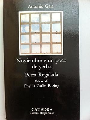 Noviembre y un poco de yerba /: Antonio Gala