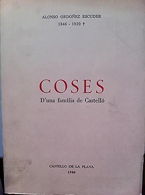 Coses d'una familia de Castelló: Ordoñez Escuder, Alonso (1846-1920)