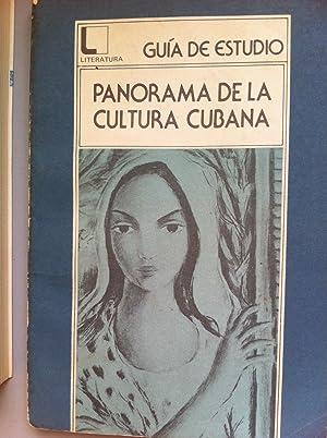 GUIA DE ESTUDIO: Panorama de la cultura cubana: Raul Gorrity Mayol