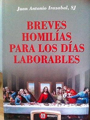 Breves homilías para los días laborables: Irazabal Andicoechea, Juan Antonio