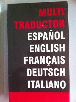 Multi traductor. Español, english, francais, deutsch, italiano: Marsig