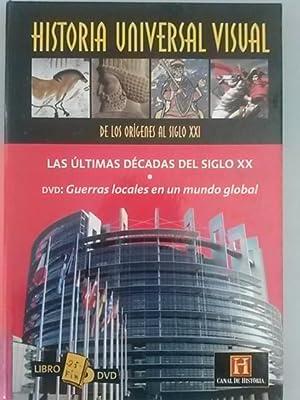 HISTORIA UNIVERSAL VISUAL. DE LOS ORIGENES AL SIGLO XXI. Nº 25: Libro DVD. Libro: La ú...
