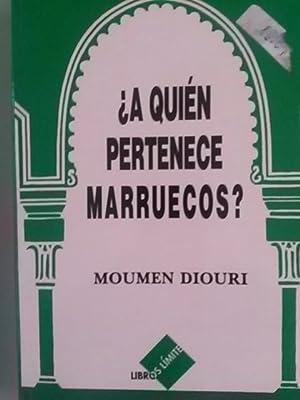 A quién pertenece Marruecos?: Moumen Diouri