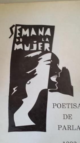 SEMANA DE LA MUJER. Poetisas de Parla: Sagrario Olmeda. Amparo