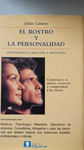 El Rostro y La Personalidad. Inteligencia Carácter: Julián Gabarre