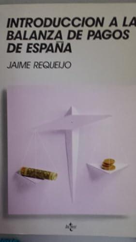 Introducción a la balanza de pagos de: Requeijo González, Jaime