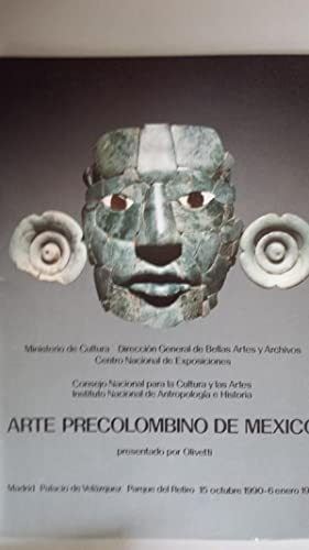 ARTE PRECOLOMBINO DE MÉXICO. Palacio de Velázquez: Sonia Lombardo de
