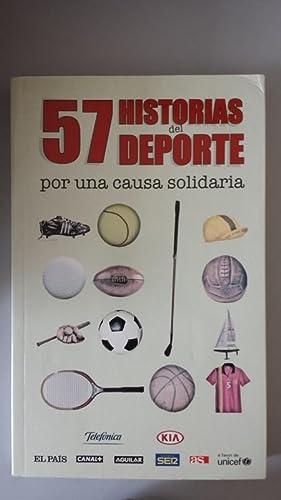 57 HISTORIAS DEL DEPORTE POR UNA CAUSA: VVAA. Pedro Zuazua
