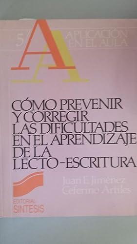 Cómo prevenir y corregir las dificultades en: Juan E. Jiménez,