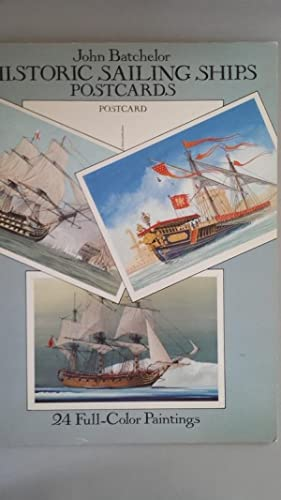 Historic Sailing Ships Postcards. 24 Full Color Paintings