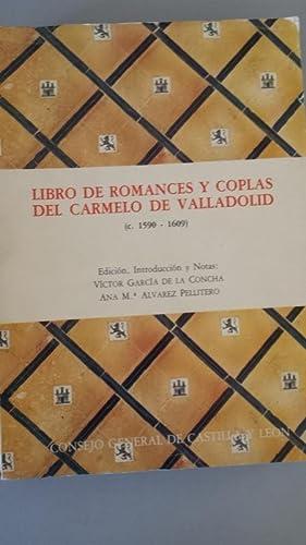 Libro de romances y coplas del Carmelo: Vector García de
