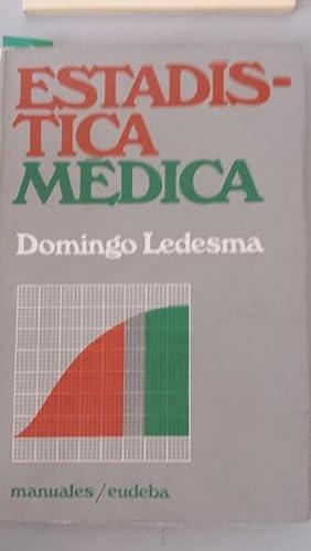 Estadística médica: Domingo Ledesma