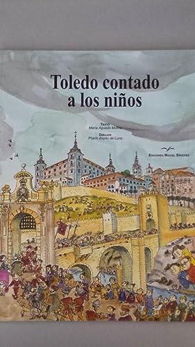 Toledo contado a los niños: María Aguado Molina