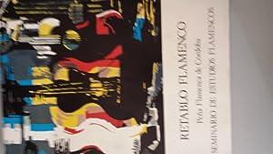 Retablo flamenco. Peña flamenca de Córdoba. Seminario: Luis Jiménez Martos,