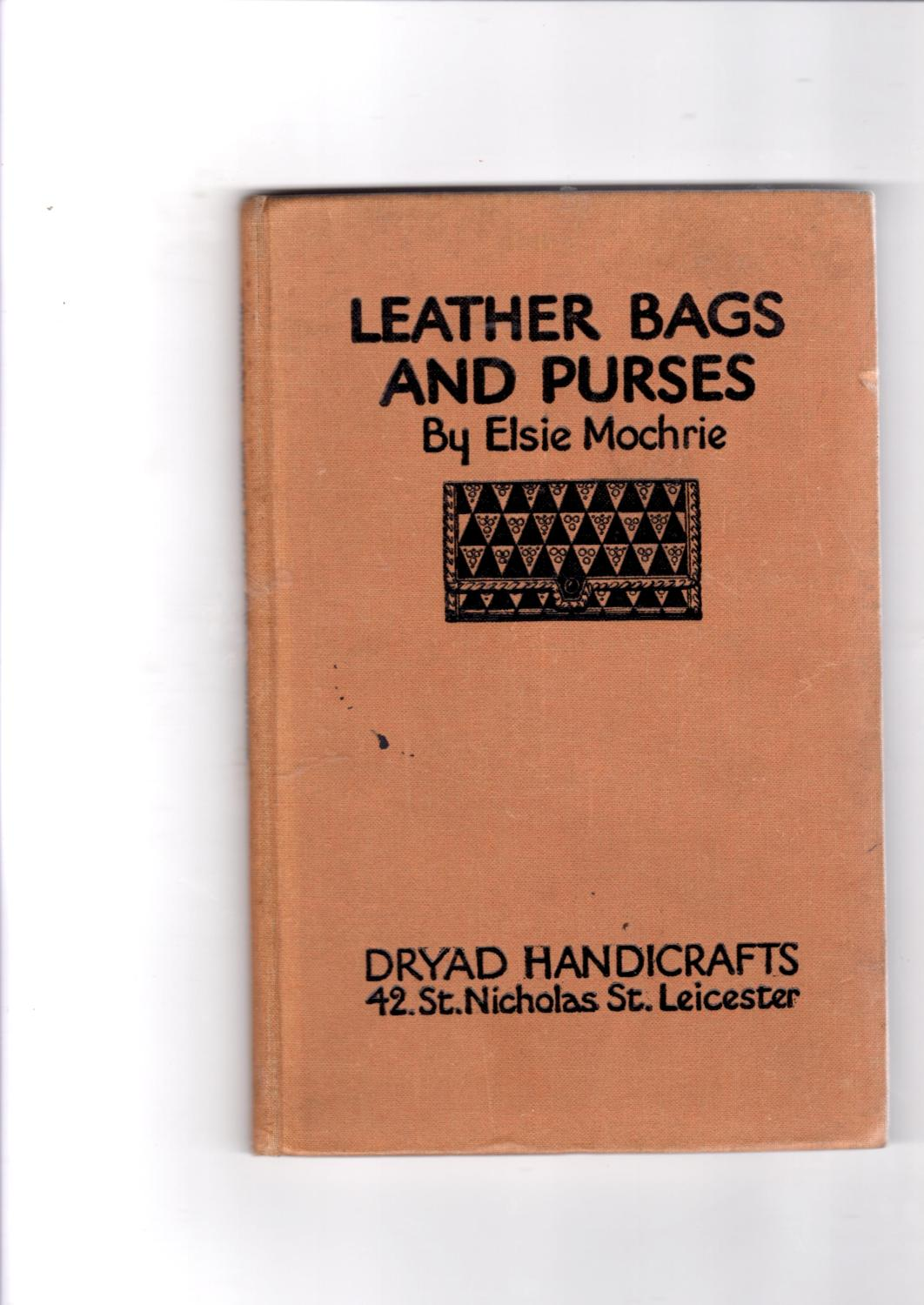 Leather bags and purses Elsie Mochrie [Very Good] [Hardcover] (bi_22879171871) photo