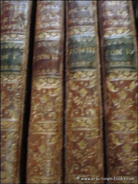FABLES -- LA FONTAINE, J. de. Fables choisies. Paris, (Printed for) Dessaint & Saillant (&)...
