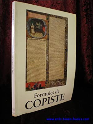 FORMULES DE COPISTE. LES COLOPHONS DES MANUSCRITS DATES,: GLORIEUX - DE GAND, Th�r�se;