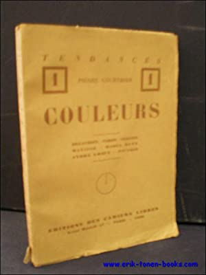 COULEURS. DELACROIX - COROT - CEZANNE - MATISSE - RAOUL DUFY - ANDRE LHOTE - PICASSO.: COURTHION, ...