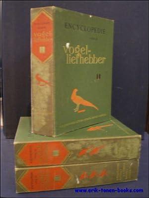 Encyclopedie voor de vogelliefhebber.: RUTGERS (SAMENSTELLER), Bijdragen van medewerkers uit vele ...