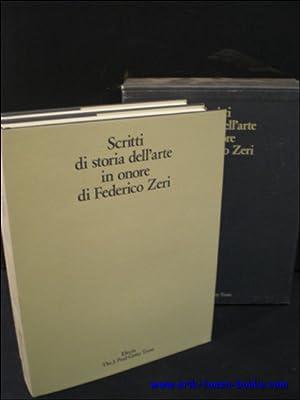 SCRITTI DI STORIA DELL'ARTE IN ONORE DI: N/A.