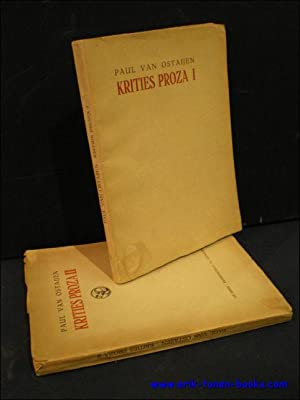 Krities proza 1 + 2.: van Ostaijen, Paul.