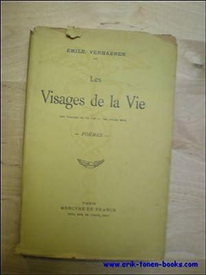 LES VISAGES DE LA VIE - LES DOUZES MOIS. POEMES.: VERHAEREN, Émile.