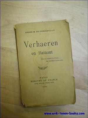 VERHAEREN EN HAINAUT.: DE PONCHEVILLE, Andr�.