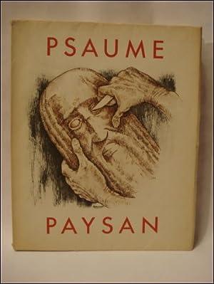 PSAUME PAYSAN. (numéroté).: TIMMERMANS, FÉLIX.