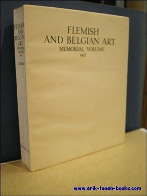 Catalogue of the Loan Exhibition of Flemish and Belgium Art Burlington House London 1927 Memorial ...