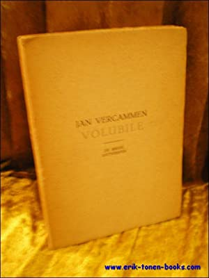 VOLUBILE,: VERCAMMEN, Jan;