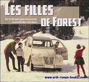 filles de forest de in België geproduceerde tweecilinder Citroëns. 2CV: Vincent Beyaert +...
