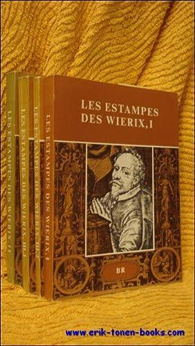 LES ESTAMPES DES WIERIX Catalogue raisonné. Complete,: MAUQUOY-HENDRICKX, Marie.