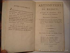 ARITHMETIQUE DE BEZOUT, a l'usage de l'artillerie, de la marine et du commerce.: PEYRARD