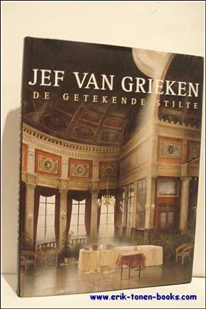 JEF VAN GRIEKEN. DE GETEKENDE STILTE,: VAN CAUWENBERGE, Johan;