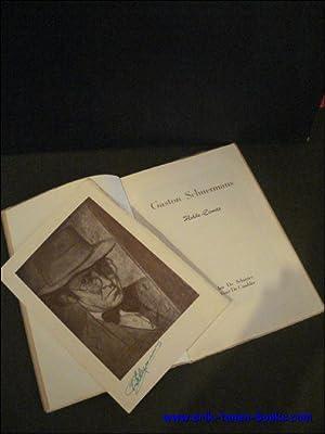 GASTON SCHUERMANS. HULDE.: SCHUYTER,DE, Jan/ CNODDER,
