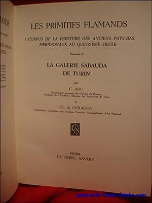 LA GALERIE SABAUDA DE TURIN.: ARU, C./ GERADON, DE, ET.