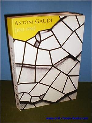 ANTONI GAUDI (1852 - 1926),: N/A;