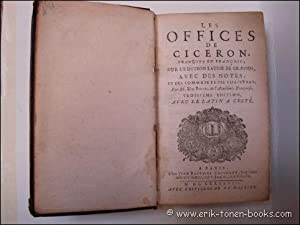LES OFFICES DE CICERON.: N/A.