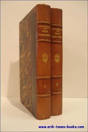 DEUX PRISONNIERS. 2 tomes.: DE ZILAHY, Lajos.
