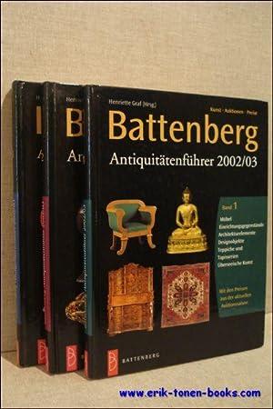 Battenberg Antiquitätenführer 2002/03. Kunst - Auktionen - Preise.: Graf, Henriette ...