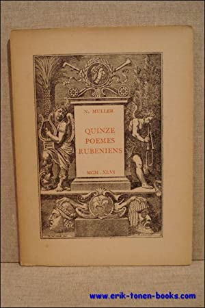 Quinze poèmes rubeniens.: Muller, N.