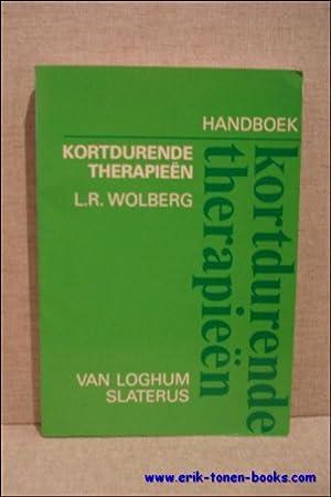 HANDBOEK KORTDURENDE THERAPIEEN,: WOLBERG, L.R.;