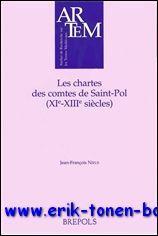 chartes des comtes de Saint-Pol (XIe-XIIIe siècles): J.-F. Nieus (ed.);