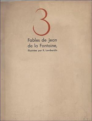 FABLES DE JEAN DE LA FONTAINE.: DE LA FONTAINE,