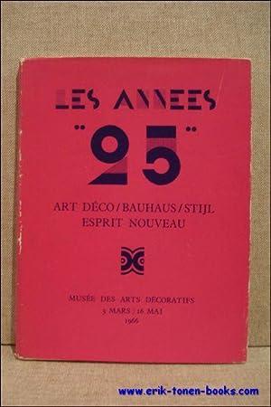 """années """"25"""". Art Déco / Bauhaus / Stijl / Esprit Nouveau.: ..."""