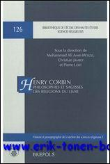 Henry Corbin. Philosophies et sagesses des religions du Livre. Colloque organisé par l'...