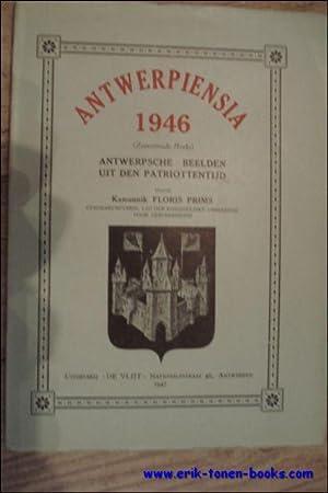 ANTWERPIENSIA 1927-1953 24 delen compleet.: PRIMS, Floris.