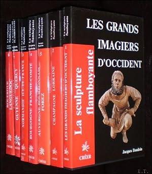 LA SCULPTURE FLAMBOYANTE., CHAMPAGNE LORRAINE, AUVERGNE BOURBONNAIS FOREZ, LES GRANDS IMAGIERS D&#...