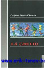 European Medieval Drama 14 (2010),: N/A;