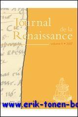 Journal de la Renaissance 5/2007,: M.-L. Demonet (ed.);